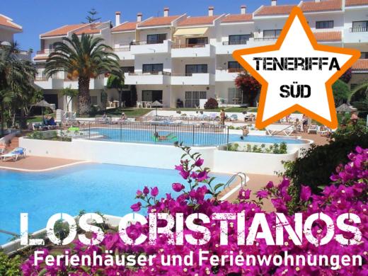 Ferienhäuser und Ferienwohnungein Los Cristianos, Teneriffa Süd
