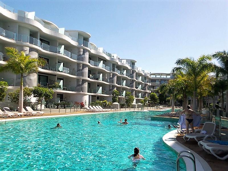 Ferienwohnung Areca Palm Mar mit Pool 3