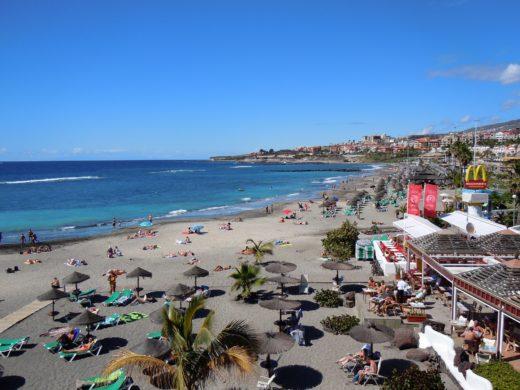 Strand an der Costa Adeje Teneriffa Süd
