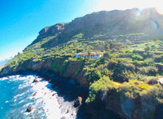 Ferienhaus in San Juan de la Rambla direkt an der Küste