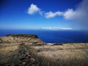Blick von Teno Alto aus in Richtung La Gomera