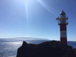 Der Leuchtturm an der Punta de Teno.