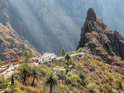 Das Dorf Masca am Eingang der Masca-Schlucht
