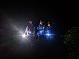 Nachtwanderung im Barranco de Badajoz, der Geisterschlucht von Teneriffa